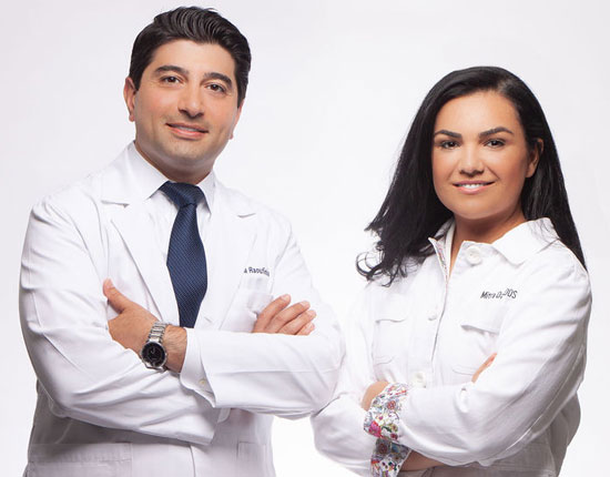 Drs. Mitra Davaninejad, DDS, MS and Nima Raoufinia, DDS